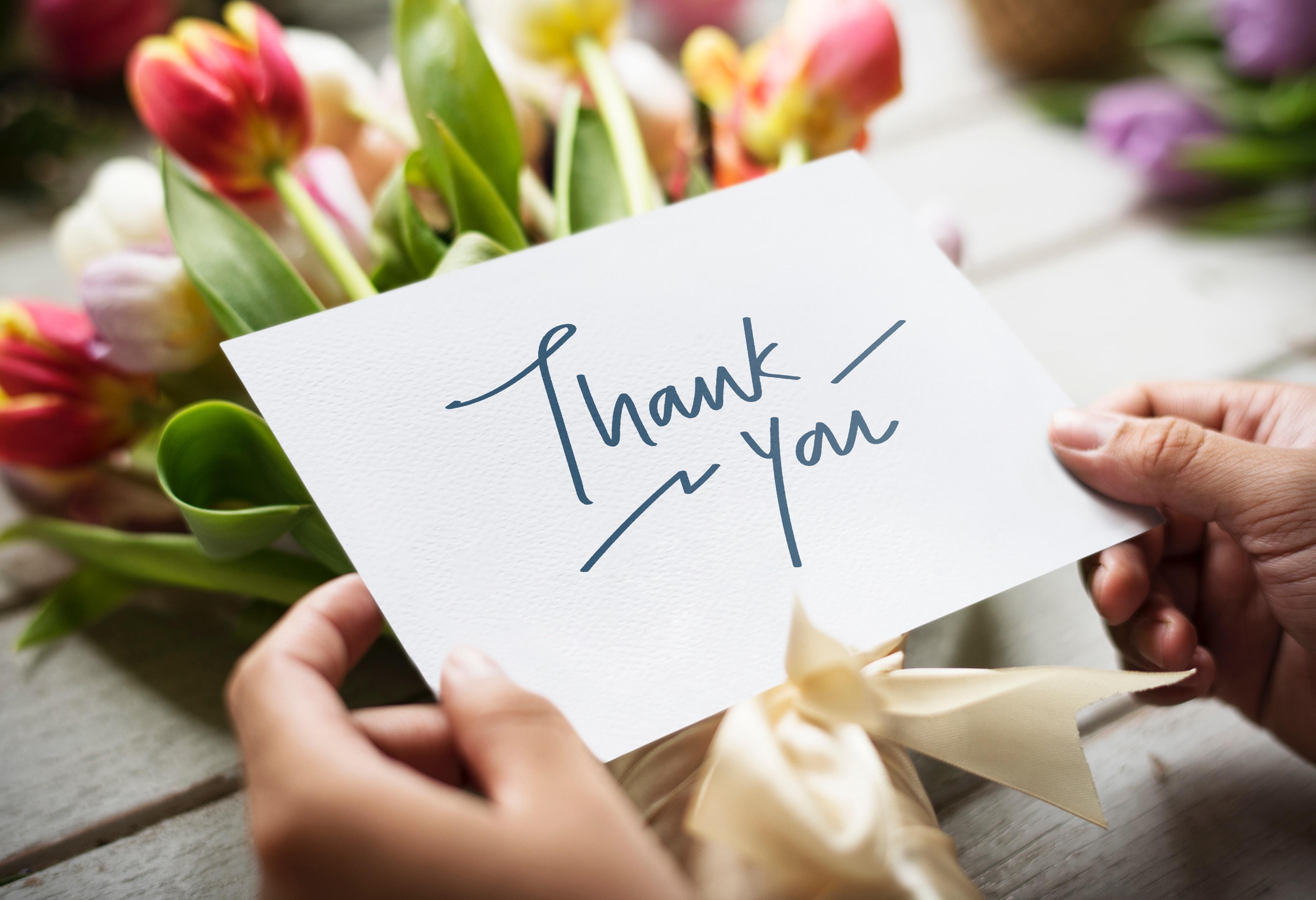 10 sposobów, żeby powiedzieć dziękuję